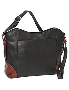 EW Top Zip Shoulder Bag by Derek Alexander
