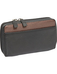 Medium Organizer Clutch Wallet by Derek Alexander