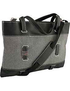 "Herringbone Ultrabook Tote - 14.1""/15"" Mac by Mobile Edge"