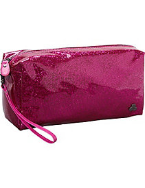 Jazz Glitter Large Cosmetic/Travel Case by Clava