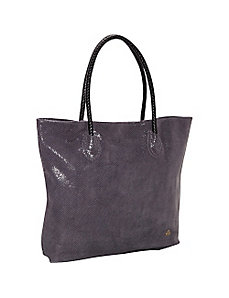 Ryan Embossed Snake Leather Tote by Clava