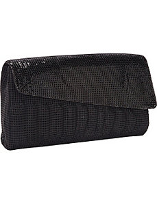 Matte/Shine Clutch by Whiting and Davis