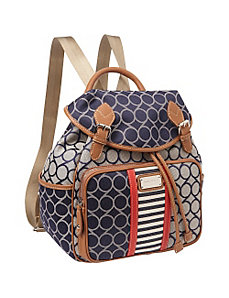 On Cloud 9 Denim Backpack by Nine West Handbags