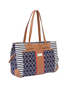 On Cloud 9 Denim Satchel by Nine West Handbags