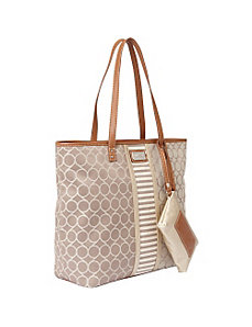 On Cloud 9 Denim Tote by Nine West Handbags