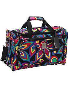 Wild Flower City Duffel by Jenni Chan