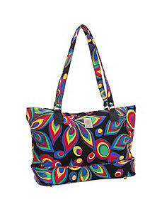 Wild Flower Computer Tote by Jenni Chan