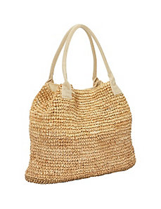 Raffia Tote by Betmar New York