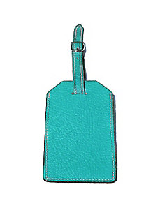 Leather Luggage Tag by pb travel