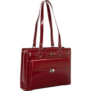 Joliet Leather Laptop Tote - eBags Exclusive