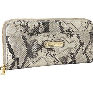 Snake Charm Zip Around Wallet
