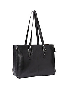 Leather Expandable Laptop Tote by Samsonite Business Cases