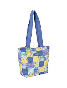 Medium Patched Tote, Lemon Drop by Donna Sharp