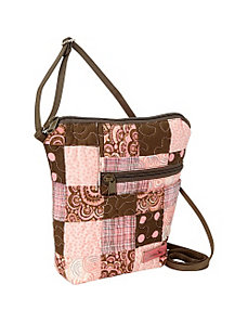 Penny Bag, Mocha Patch by Donna Sharp