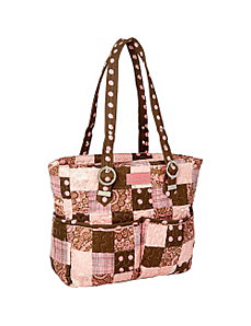 Elaina Bag, Mocha Patch by Donna Sharp
