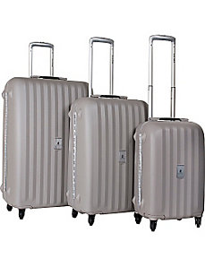 Festival 3 Piece Hardside Spinner Luggage Set by CalPak