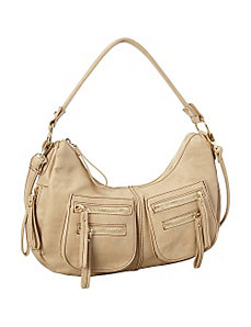 Zipster Medium Shoulder Bag by La Diva