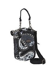 Cell Phone Purse - Black Pearl by Donna Sharp