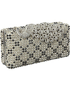 Hardcase Crystal Clutch by J. Furmani