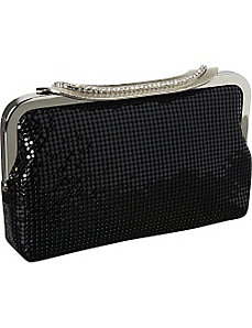Elegant Metal Mesh Clutch by J. Furmani