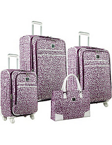 Spots 4 Piece Luggage Set by Diane Von Furstenberg