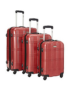 Light Weight Polycarbonate 3 Pc Luggage Set by McBrine Luggage