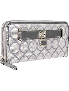 9 Jacquard Small Zip Around by Nine West Handbags