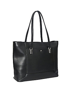 Picton Top Zip Laptop Tote by Knomo