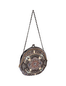 Round Purse by Moyna Handbags