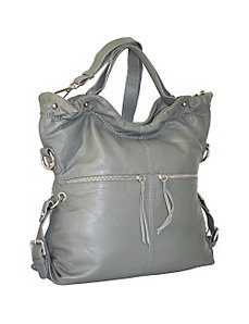 Grip Handle Tote Bag by Nino Bossi