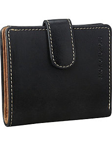 Montana Collection Mini Wallet w/Snap Closure by Jack Georges