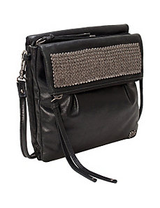 Trinity Leather Flap Crossbody by The Sak