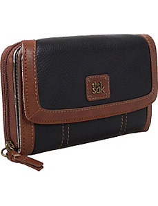 Iris Large Zip Wallet by The Sak