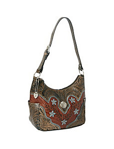 Desert Wildflower Zip-top Hobo by American West