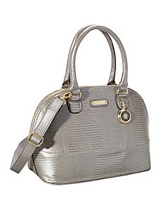 Leo Lizard Large Satchel by Anne Klein