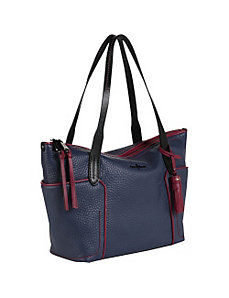 Parker Colorblock Small Zip Top Shopper by Cole Haan