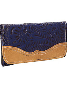 Birds of a Feather Bucket Tri-fold Wallet by American West