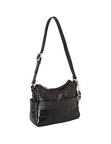 Leather Shoulder Bag by La Diva