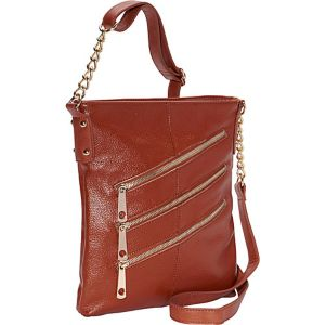 3 Front Zip Crossbody