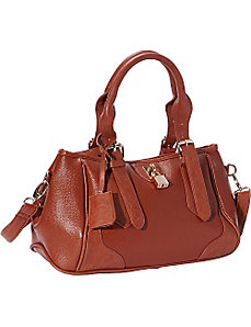 East West Tote With Lock & Detachable Strap by R & R Collections