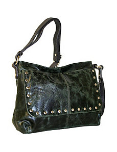 Top Zip Cross Body with Full front flap by Nino Bossi