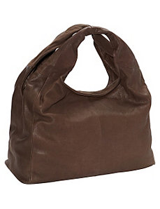 Double Handle Slouchy 3 Zip Tote by R & R Collections
