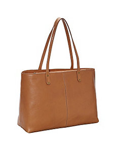Skinny Handle Tote Bag by R & R Collections