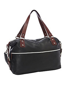 Large EW Top Zip Flight Bag by Derek Alexander
