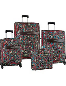 Enchanted 4 Piece Luggage Set by Anne Klein Luggage