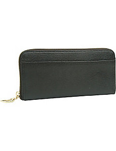 Madison Gusseted Zip Clutch by TUSK LTD