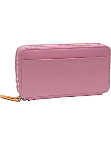 Siam Gusseted Zip Clutch by TUSK LTD