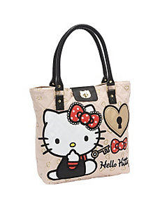 Hello Kitty Lock and Key Tote by Loungefly