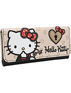 Hello Kitty Lock and Key Wallet by Loungefly
