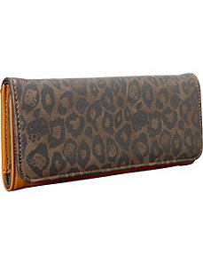 Hello Kitty Tonal Leopard Wallet by Loungefly